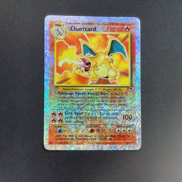 Pokemon Legendary Collection - Charizard - 003/110 - Used Rare card