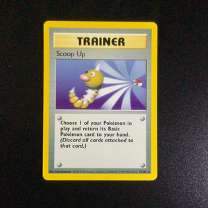 Pokemon Base 1 - Scoop Up - 078/102*u - Used Rare card
