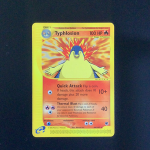 Pokemon Expedition - Typhlosion - 064/165 - Used Rare card