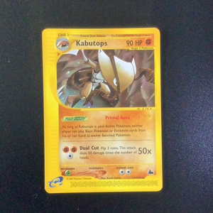 Pokemon Skyridge - Kabutops - 014/144 - As New Rare card