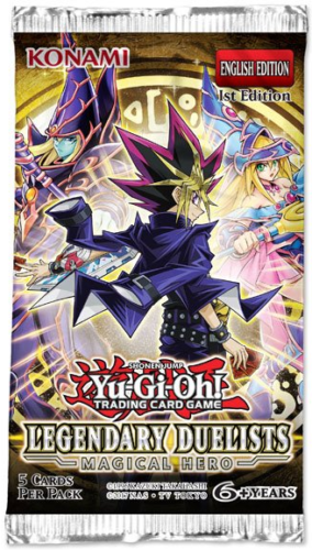 Yu-Gi-Oh Legendary Duelists Magical Hero 1st Edition - 1 Booster Pack