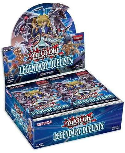 Yu-Gi-Oh FACTORY SEALED Booster Box - Legendary Duelists 1st Edition