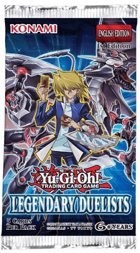 Yu-Gi-Oh Legendary Duelists Series 1 - 1 Booster Pack