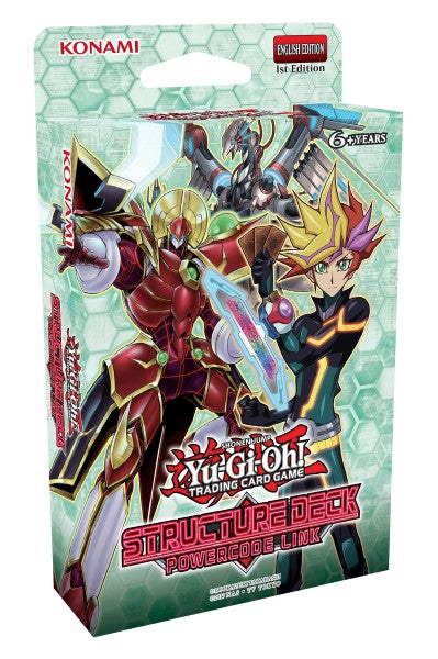 Yu-Gi-Oh Structure Deck - Powercode Link
