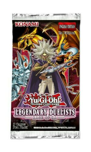 Yu-Gi-Oh Legendary Duelists Rage of Ra 1st Edition - 1 Booster Pack