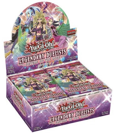 Yu-Gi-Oh FACTORY SEALED Booster Box - Legendary Duelists Sisters of the Rose 1st Edition