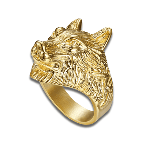 bague or loup
