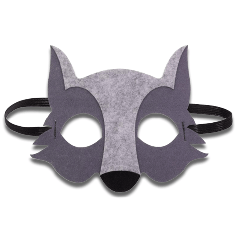 Masque Loup Maternelle