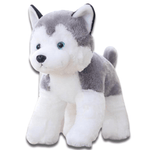 Peluche Loup Taille Moyenne Face