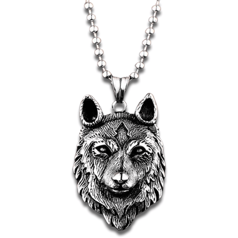 Pendentif Loup Animaux