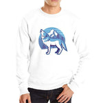 Sweat Loup Arctique Blanc
