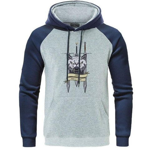 Sweat Loup Stark Bleu