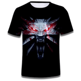 T Shirt Loup Origami