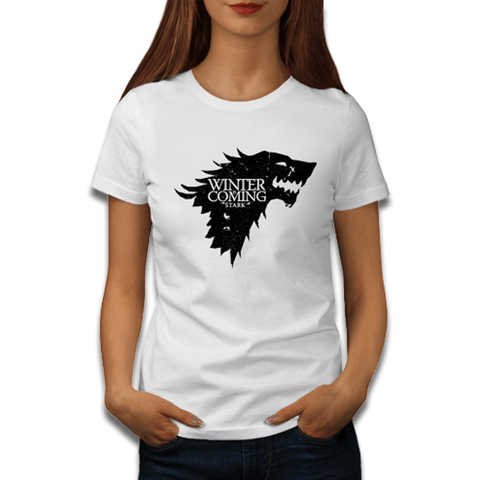 T-Shirt Loup Game Of Thrones