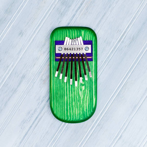 Color Pine Thumb Piano -Green