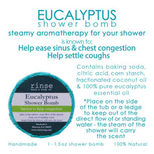 Load image into Gallery viewer, Shower Bomb - Eucalyptus