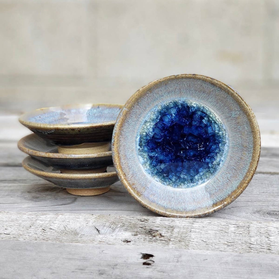 Geode Glass Bowl  - Cascade