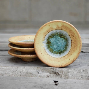 Geode Glass Bowl  - Sienna