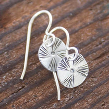 Load image into Gallery viewer, One Pretty Pinwheel Earrings