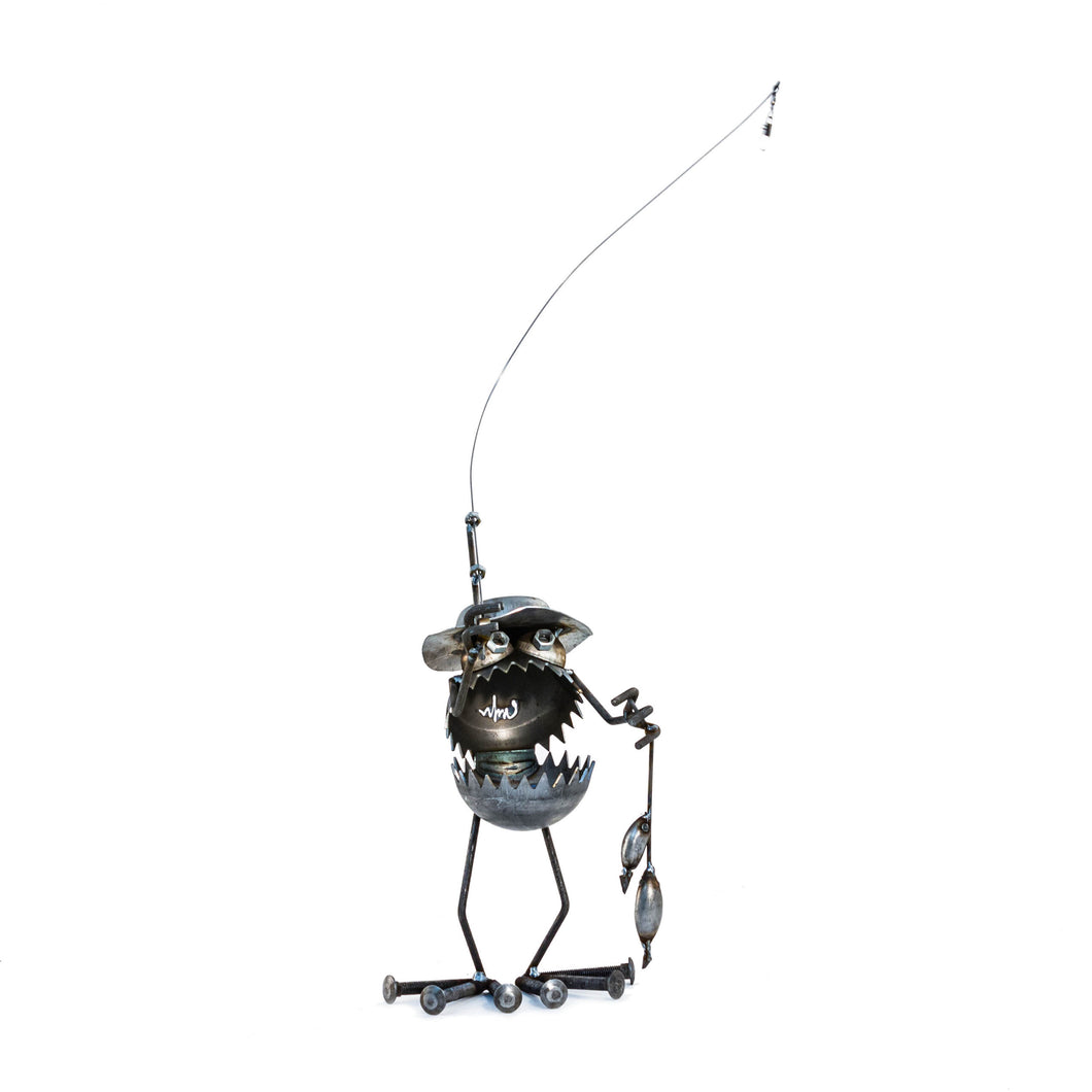 Gnome-Be-Gone - Fly Fisherman - 12 inch