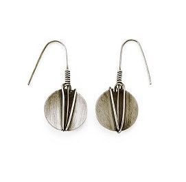 Wrapped Round Sterling Earrings