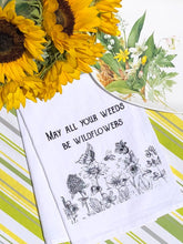Load image into Gallery viewer, Wildflowers Flour Sack Tea Towel