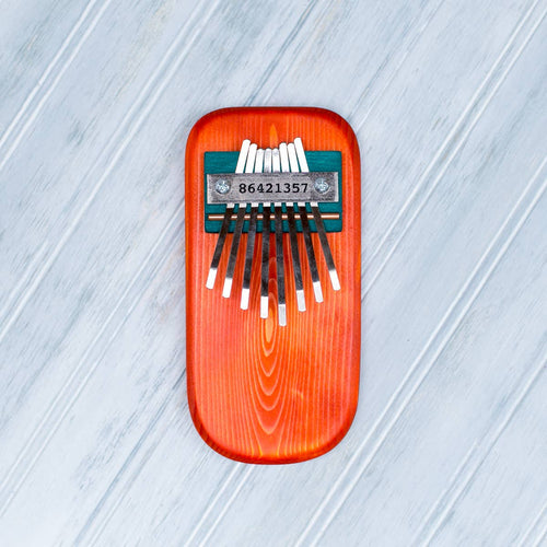 Color Pine Thumb Piano -Orange