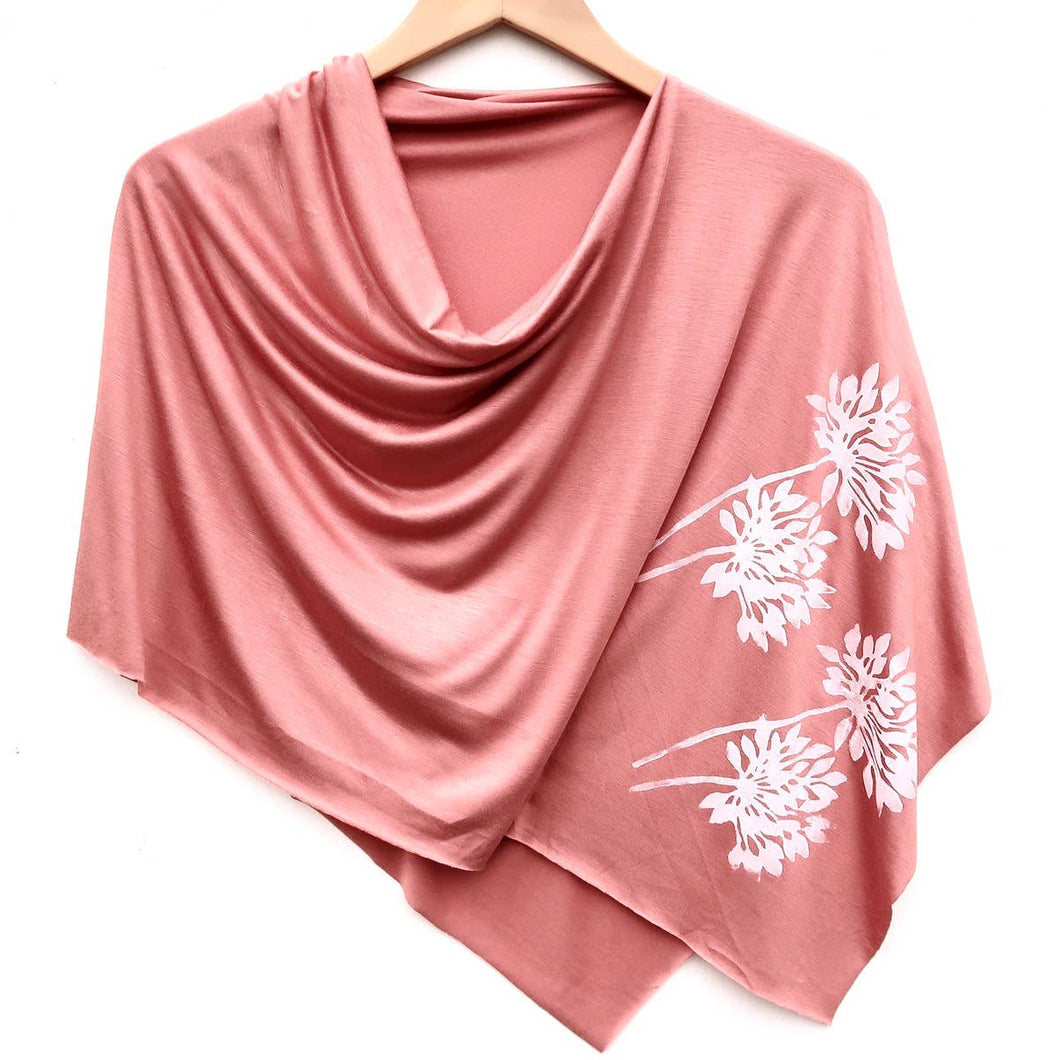 Allium Poncho Peach with White