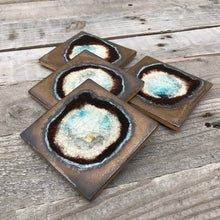 Load image into Gallery viewer, Geode Crackle Coaster - Bronze