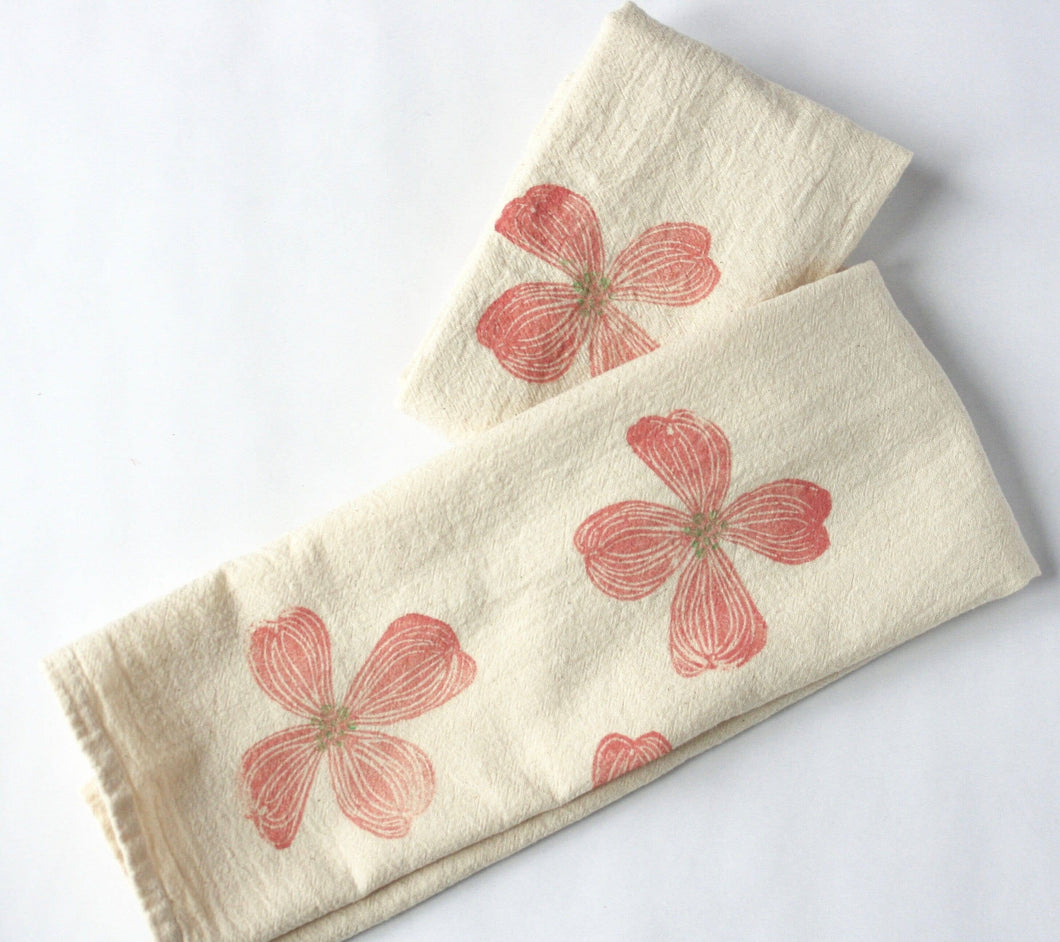 Dogwood Kitchen Towel, Tea Towel
