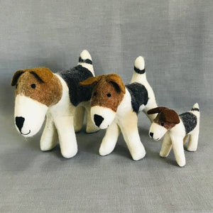 Hand Felted Dog -Small