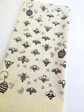 Load image into Gallery viewer, Bees Kitchen Towel, Tea Towel