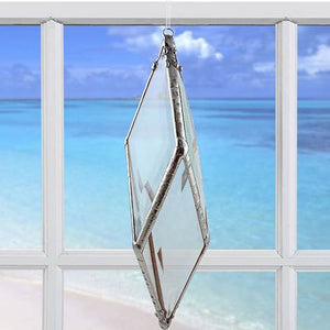 Diamond Rainbow Water Prism - Medium