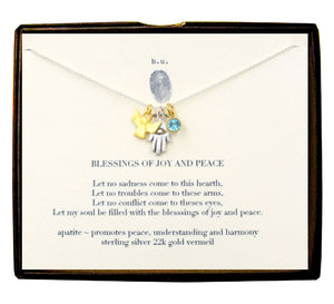 Blessings of Joy and Peace Necklace