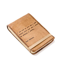 Load image into Gallery viewer, Leather Journal -Kerouac