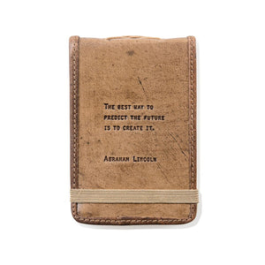 Leather Journal -Lincoln