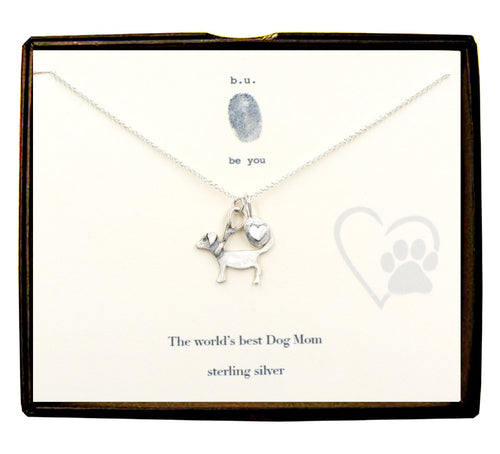 World's Best Dog Mom Necklace