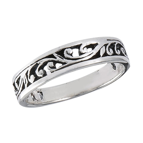 Sterling Silver Thin Vine Ring