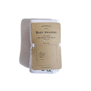 Organic Cotton Swaddle Blanket- A.A. Milne