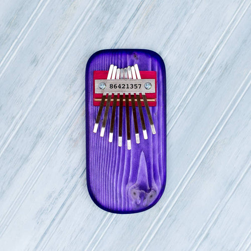 Color Pine Thumb Piano -Purple