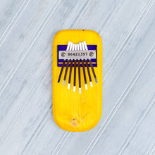 Load image into Gallery viewer, Color Pine Thumb Piano -Yellow