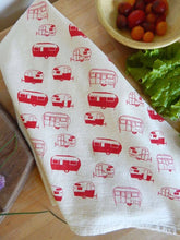 Load image into Gallery viewer, Camper Kitchen Towel, Tea Towel