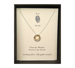 First, My Mother Necklace