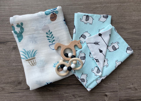 Elephant/swaddle package