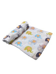 Elephants Infant Swaddle Blanket