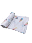Feathers Infant Swaddle Blanket