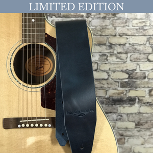 The Spindale Guitar Strap - Limited Edition Ice Blue