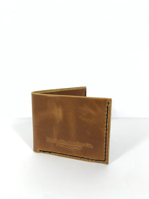 The Prosperity Billfold Wallet - CARAMEL