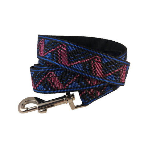 Retro Zig Zag Leash ~ Apollo's Pack - the Pack that gives Back