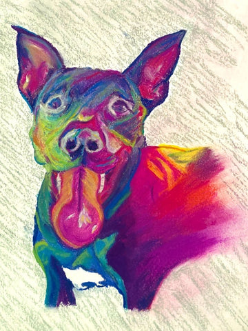 Custom Dog Portraits ~ Apollo's Pack - the Pack that gives Back